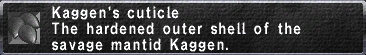 Kaggen's Cuticle