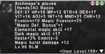 Archmage's Gloves